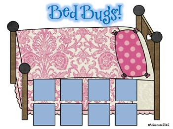 Bed Bugs! A game of rhyming and letter sounds fun!