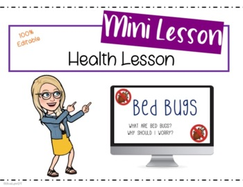 Bed Bugs Instructional PPT [EDITABLE]