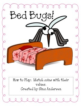 Bed Bugs-Matching coins to their value