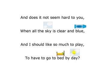 Bed In Summer by Robert Louis Stevenson - Modified Poem