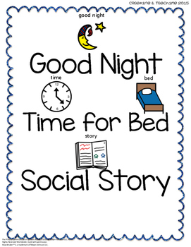 Bed Time Social Story