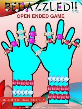 Bedazzled!! Open-Ended Game for Language, Math and Everything