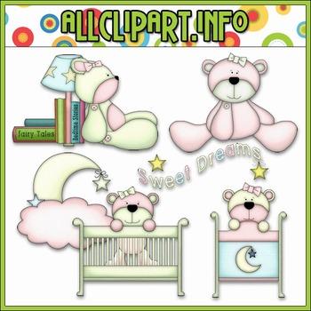 Beddy Bye Bears Clip Art - Alice Smith Clip Art