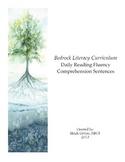 Bedrock Daily Reading Fluency Comprehension Sentences