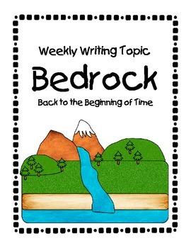 Bedrock Weekly Writing Topic