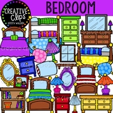 Bedroom Clipart {Creative Clips Clipart}