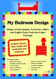Bedroom Design Project Unit of Work - Cross Curricular Mat