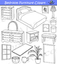 Bedroom Furniture Clipart