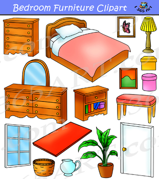 Bedroom Furniture Clipart By I 365 Art