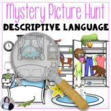 Bedroom Mystery Picture Hunt for directions & descriptions in speech therapy