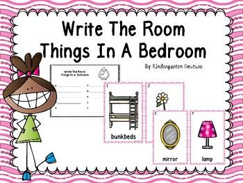 Bedroom Write The Room