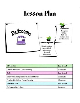 Bedrooms Lesson