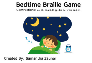 Bedtime Braille Game