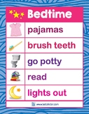 Bedtime Chart (Pink)