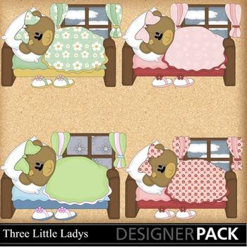 Bedtime Girl Bear