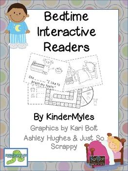 My Bedtime Interactive Readers with Activities