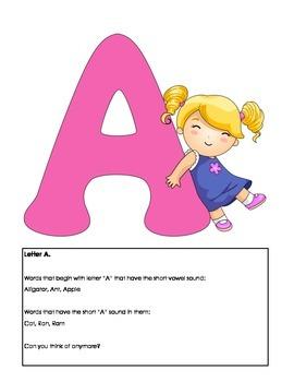 Bedtime Learning Book:  Reinforcement of Basic Skills for Preschoolers
