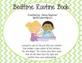 Bedtime Routine Book