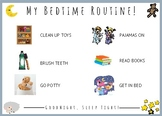 Bedtime Routine Visual Support