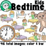 Bedtime Routines Children ClipArt