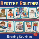 Bedtime Routines & Getting Ready for Bed: Flexible EDITABL