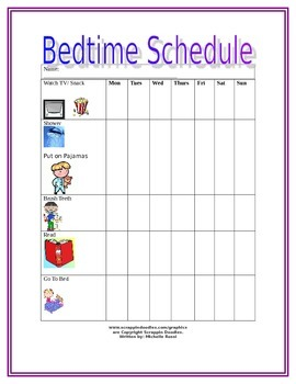 Bedtime Schedule for Special Needs Children
