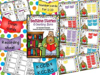Bedtime Stories {A Counting game}