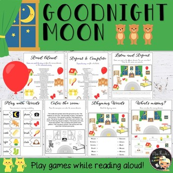Good Night Moon - Literature Unit