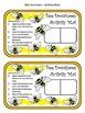 Bee Activities: Bee Dominoes Spring-Summer Math Activity Packet Bundle