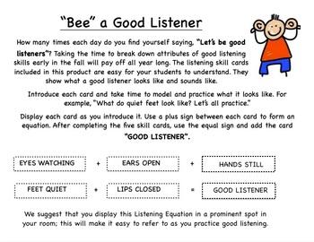 Teach Listening Skills