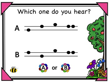 Bee A Good Listener - A Game for Practicing So, Mi and La