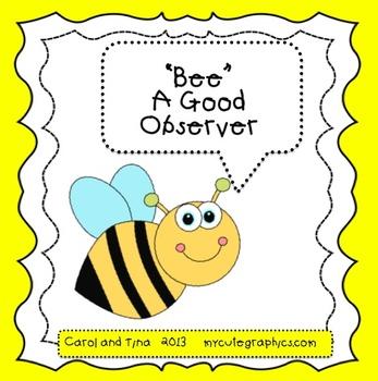 """Bee"" A Good Observer-A Mini-Lesson"