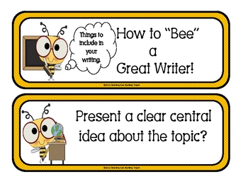 Bee A Great Writer