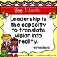 Bee A Leader: Quotes about Leadership for Kids and Teacher