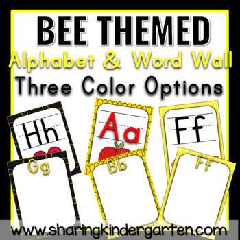 Bee ABCs and Word Wall