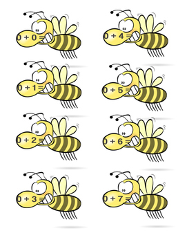 Bee Addition Packet