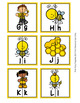 Bee Alphabet Letter Match Puzzles