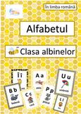 Bee Alphabet Posters in Romanian, Alfabetul cu Albine in L