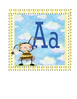 Bee Alphabet Set