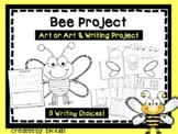 Bee Art & Writing Project - Insect Art Project - Bee Bulle