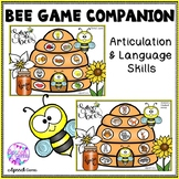 Spring and Summer Bee Articulation and Language Game Compa