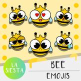 Bee Emojis Clipart