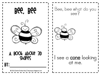 Bee, Bee: 3D Shapes