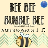 Bee Bee Bumble Bee Printables