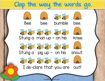 Bee Bee Bumble Bee {Steady Beat} {Rhythm} {Ta Ti-Ti}