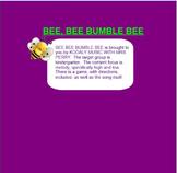Bee Bee Bumble Bee~so-mi~beat~ta, ti-ti~ Smartboard~Traditional Game Song