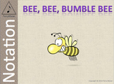 Bee Bee Bumble Bee (ms) - Notation Pack