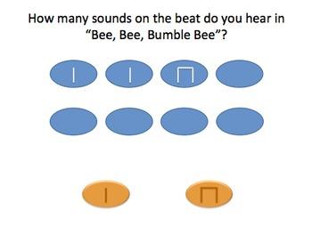 Bee Bee Bumble Bee (ms) - Rhythm Pack