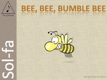 Bee Bee Bumble Bee (ms) - Sol-fa Pack