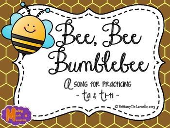 Bee, Bee Bumblebee - A Song for Ta & Ti-ti